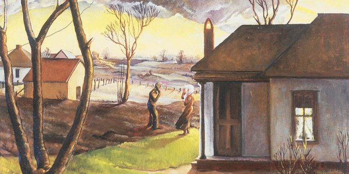 Gladys Lux, End of a Day, oil on canvas, 1937