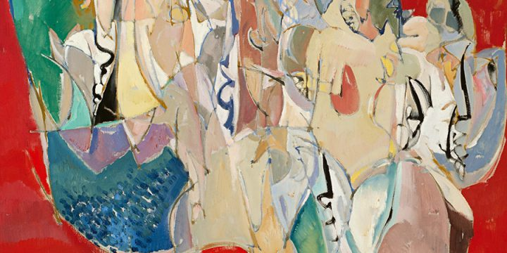 Keith Martin, Three Kings, oil on canvas, 1955