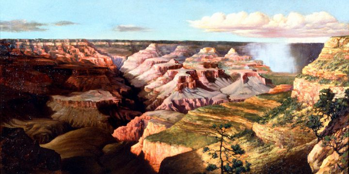 Jesse N. Halsted, Grand Canyon, oil, 1927