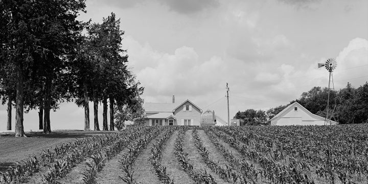 Charles W. Guildner, Matthies Farm, black & white photograph, 1995