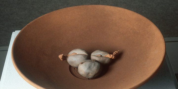 Julie Lade-Wills, Trade Your Cow for Some Magic Beans, ceramic, 1997