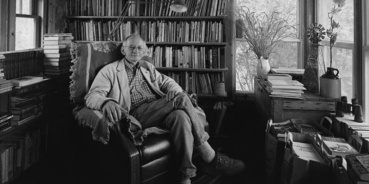 Charles W. Guildner, Ted Kooser, Poet Laureate Consultant in Poetry - Library of Congress - 2004, 2005, black & white photograph (2/45), 2005