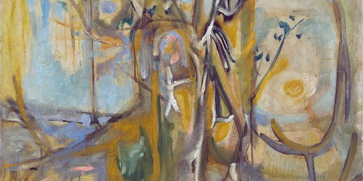 Mary Emily Hartman, Magic Tree, oil on linen, 1955