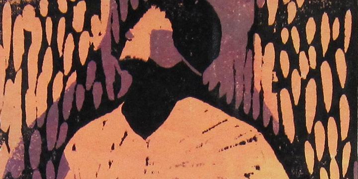 Zenaide Luhr, Emmy's Fat Lady, woodcut (1/4), n.d.