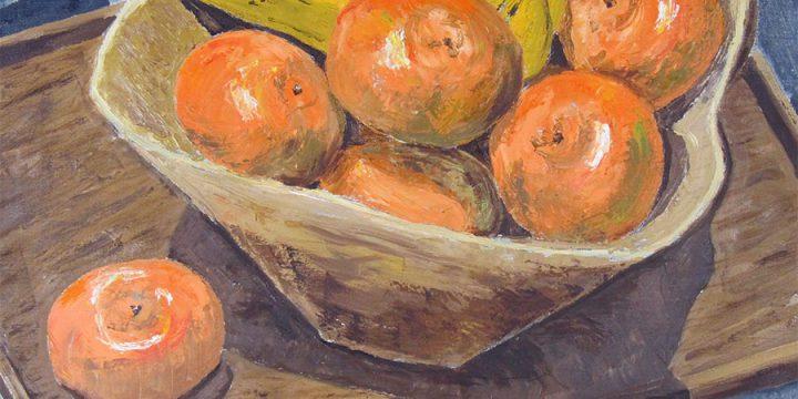 Richard Hay, Untitled (bananas, oranges), 1959