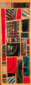 Jack Karraker, Colors in Copper, copper enamel, n.d.