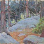 Robert F. Gilder, Landscape, oil, n.d.