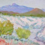 Robert F. Gilder, Desert and Hills, oil on board, n.d.