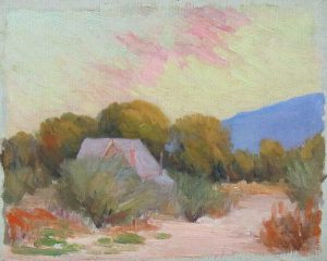 Robert F. Gilder, Untitled, oil on canvas, n.d.