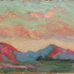 Robert F. Gilder, Untitled, oil on board, n.d.