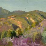 Robert F. Gilder, Green Mountains, Purple Sage, oil, n.d.