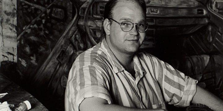Eva Czarnecki, Vincent Hron, black & white photograph, c. 1993