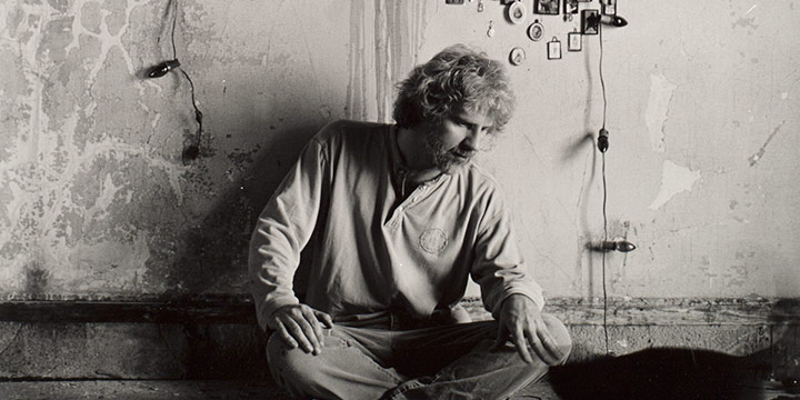 Eva Czarnecki, Kent Bellows, silver print, c. 1993