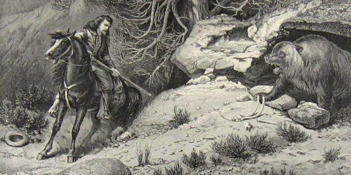 William de la Montagne Cary, A Bare Chance, wood engraving, published in Harper's Weekly