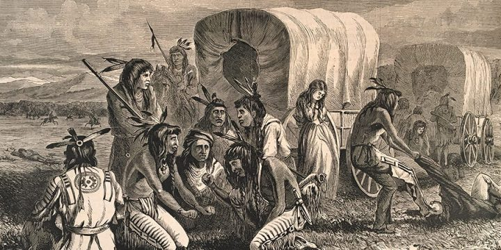 William de la Montagne Cary, Indians Gambling for the Possession of a Captive, wood engraving, published in Harper's Weekly, June 20, 1874