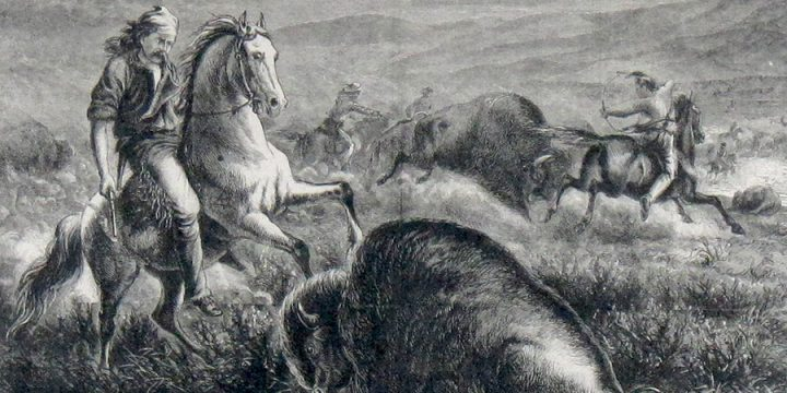 William de la Montagne Cary, The Guardians of the Herd, published in Harper's Weekly, October 25, 1873