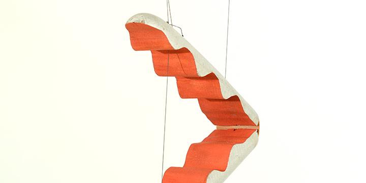 Bil Baird, Untitled (rocket marionette), wood, cardboard, paint, string, leather, n.d.