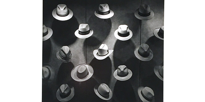James Alinder, Hat Display, Neiman Marcus, Dallas, 1979, silver print, 1985