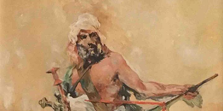 Henry Carl Kroeger, Arab Patrol, oil, 1937
