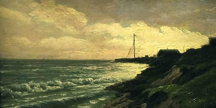 Henry Howard Bagg, Morning on Long Island, oil on linen, n.d.