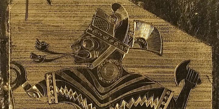 John Thein, Antara III, gold leaf