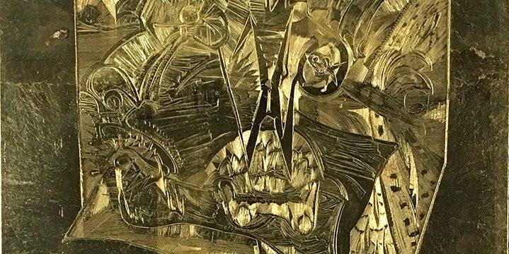 John Thein, Untitled, gold leaf