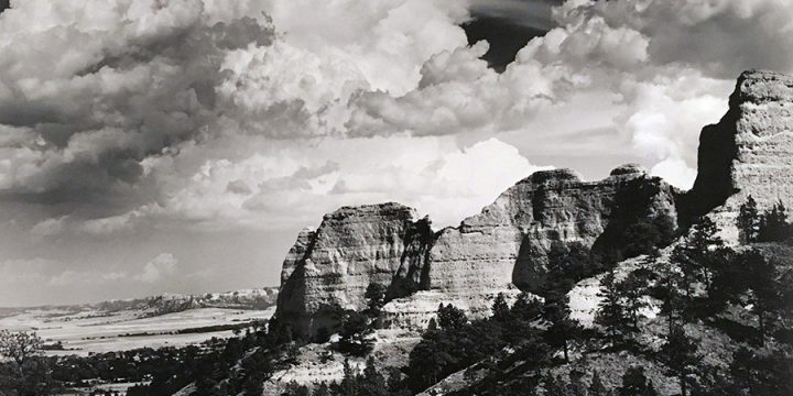 Dale Graham, Red Cloud Buttes - Clouds, photography, 1989