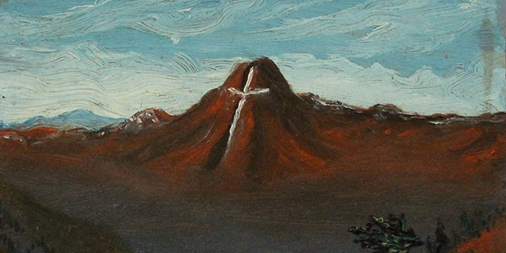 Dale Nichols, Mountain of the Holy Cross, oil, c. 1916