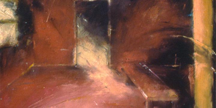 Dan Howard, Ruminazione Degli Mondo, oil on linen, c. 1994