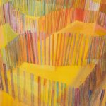 Myra Biggerstaff, Fire Island Fences I, The Maze, pastel, watercolor, n.d.