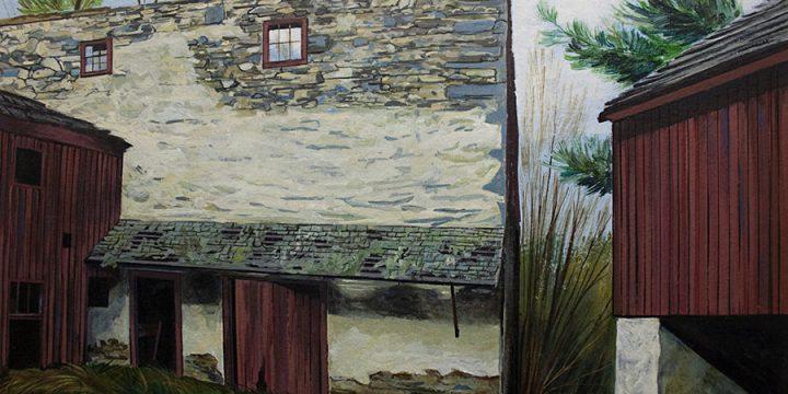 J. Robert Greiner, Breezeway, acrylic, n.d.