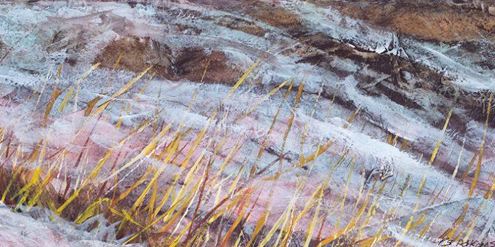 Paul Adkinson, Winter's End, acrylic, watercolor, c. 2009