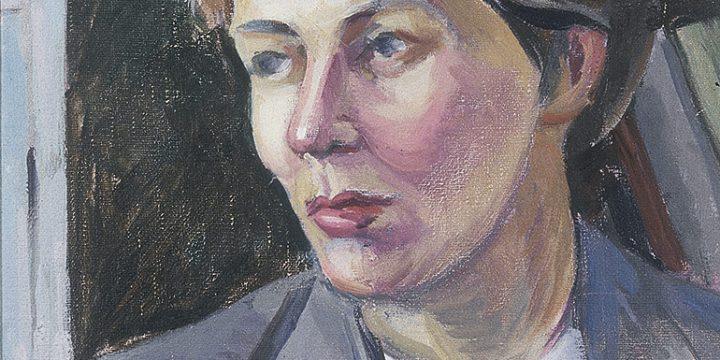 Mildred Potter (Seacrest), K. B. F. (Kady Burnap Faulkner), oil on canvas, c. 1940s-1950s