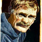 Robert Weaver, Self-Portrait, oil on paper, 1986