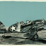 Robert Weaver, P40E, color lithograph (2/20), 1978