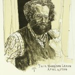 Robert Weaver, Jack Harrison Lemon, April 6, 1936, color lithograph, 1981