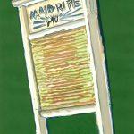 Robert Weaver, Untitled (Maid-Rite 240), oil on paper, n.d.