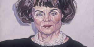 Robert Weaver, Untitled (woman), oil on canvas, n.d.