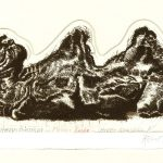 Robert Weaver, Camel, etching, 1973