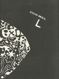 Judy Greff, The Book of Bad Things-Volume 1, Women - Tumor Registry No. 920795, artist book: linocut (1/4), 1998