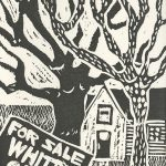 Linda Wooten-Green, The Book of Bad Things-Volume 3, Society - Whites Only, artist book: linocut (1/4), 1998