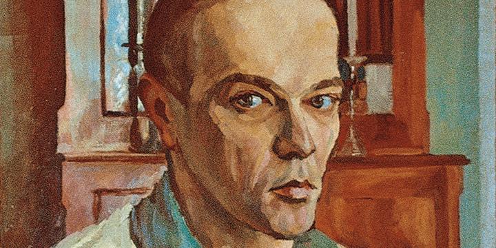 Leonard Thiessen, Self-Portrait, oil on canvas, 1937