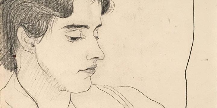 Mary Elizabeth Gifford, Kay Lilly Riley Goodrich, graphite, 1929
