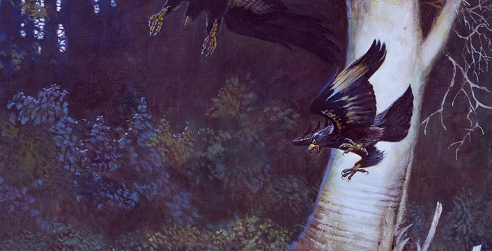 Falter, The Challenger, oil on canvas, 1979