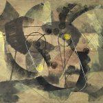 Leonard Thiessen, Kitty Litter Plus, monotype, 1980