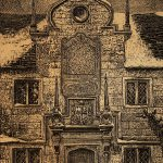 Leonard Thiessen, The Old Almshouse, relief from scratchboard, n.d.