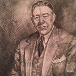 Leonard Thiessen, Mr. C.A. Swanson, graphite, n.d.