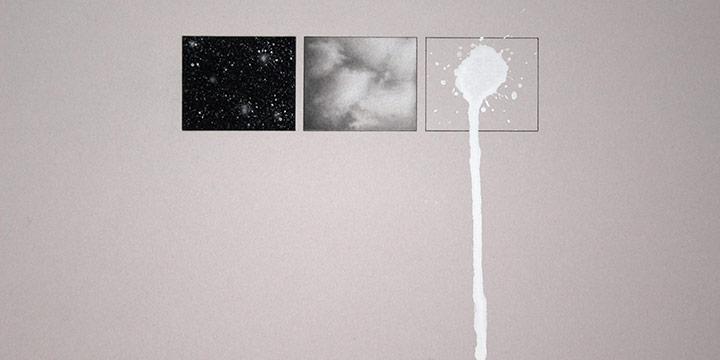 "Francisco Souto, El Otro, El Mismo (The Self, and the Other) VI, graphite, tempera, 2006, 21 × 29¼"""