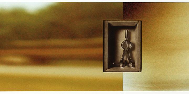"Francisco Souto, L'histoire, mezzotint and archive digital fine art print, 2009, 10 × 32"" image"