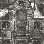 Leonard Thiessen, Olde Almshouse, lithograph, 1978
